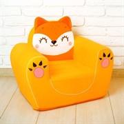 """Мягкая игрушка кресло """"Лиса"""""""