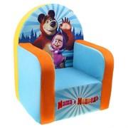 """Мягкая игрушка """"Кресло Маша и Медведь"""""""