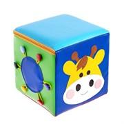 """Кубик дидактический """"Коровка"""", 20*20 см"""