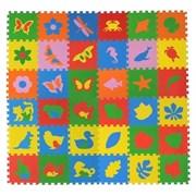 """Коврик-пазл Экополимеры (36 плит 33x33x0,9см, ~4кв.м./уп) """"Вся серия"""""""