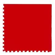 """Коврик-пазл Экополимеры (4 плиты 60x60x0,9см, 1,44кв.м./уп) """"Красный"""""""