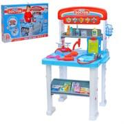 """Игровой набор """"Столик доктора"""", 2 варианта сборки, 16 предметов, высота 70 см"""