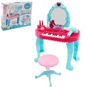 """Игровой набор модницы """"Фортепиано"""" с аксессуарами, световые и звуковые эффекты"""