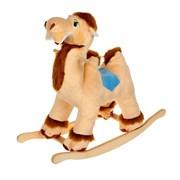 Мягкая качалка «Верблюд», цвета МИКС, 54х27х64см