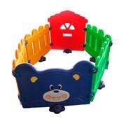 Разноцветный детский игровой заборчик FAMILY F-717