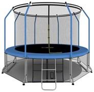 i-JUMP Elegant 12ft 3,66м с нижней сетью и лестницей FF