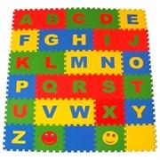 """Коврик-пазл Экополимеры (30 плит 25x25x0,9см, 2кв.м./уп) """"Английский алфавит"""""""