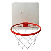 Кольцо баскетбольное с сеткой КМС d=380 мм