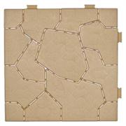 Модульное напольное пластиковое покрытие PlastiKo Stone
