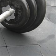 "Модульное резиновое покрытие ""NOKI PUZZLE"" 50х50х2 см"