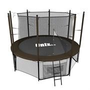 Батут UNIX line 8 ft Black&Brown (inside)