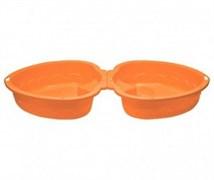 "Песочница-бассейн ""Сердечко х2"" 435 оранжевый"