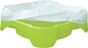 Песочница-бассейн PalPlay 378 Квадратная с покрытием салатовый