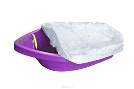 """Песочница-бассейн """"Лодочка с покрытием"""" 311 фиолетовый"""