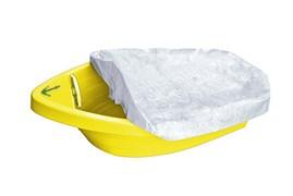 Песочница-бассейн PalPlay 311 Лодочка с покрытием жёлтый