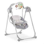 Качельки Chicco Polly Swing Up {Silver}