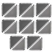 """Funkids """"Треугольники"""" Игровой коврик-пазл 12"""" толщина 15 мм (16 частей) - серия TS"""