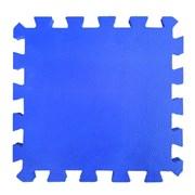 "Коврик-пазл BABYPUZZ (4 плиты 50x50x1см, 1кв.м./уп), текстура ""кожа"", синий"