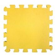 "Коврик-пазл BABYPUZZ (4 плиты 50x50x1см, 1кв.м./уп), текстура ""кожа"", желтый"