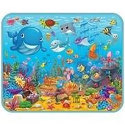 """Детский развивающий коврик  Mambobaby  """"Подводный мир"""" 130х160х0,5см"""