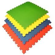 Покрытие для детских игровых зон (1 плита 100x100x1,2 см, 1кв.м./уп) с кромками