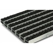Грязезащитная алюминиевая решетка Megapolis20 с ворсом