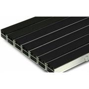 Грязезащитная алюминиевая решетка Megapolis20 Rubber