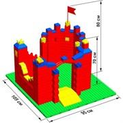 """Большой конструктор LK """"Замок"""" GB5"""" S на платформе 32х35, для детей 2-5 лет"""