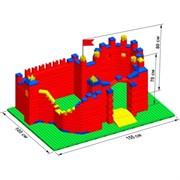 """Большой конструктор LK """"Замок"""" GB5"""" L на платформе 52х35, для детей 2-5 лет"""