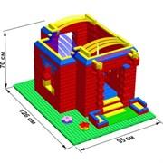 """Большой конструктор LK """"Дворец"""" GB5"""" S на платформе 32х56, для детей 2-5 лет"""