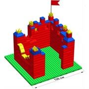 """Большой конструктор LK """"Крепость"""" GB7,5"""" M на платформе 28х28, для детей 3-8 лет"""