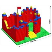 """Большой конструктор LK """"Замок"""" GB7,5"""" M на платформе 40х35, для детей 3-8 лет"""