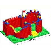 """Большой конструктор LK """"Замок"""" GB7,5"""" L на платформе 52х35, для детей 3-8 лет"""