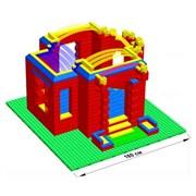 """Большой конструктор LK """"Дворец"""" GB7,5"""" M на платформе 40х56, для детей 3-8 лет"""