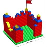 """Большой конструктор LK """"Крепость"""" GB10"""" S на платформе 24х21, для детей 5-12 лет"""