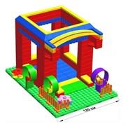 """Большой конструктор LK """"Домик"""" GB10"""" S на платформе 20х28, для детей 5-12 лет"""