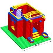 """Большой конструктор LK """"Дворец"""" GB10"""" S на платформе 32х56, для детей 5-12 лет"""