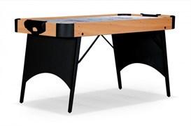 Игровой стол - аэрохоккей «Rider» 5 ф Wk (светло-черный, складной)
