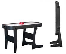 Игровой стол - аэрохоккей «Jersey» 4 ф Wk (122 х 60 х 76,5 см, черный, складной)