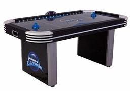 Игровой стол - Аэрохоккей «Atomic Lumen-X Lazer» 6 ф Wk (183 х 102 х 79 см, черный)
