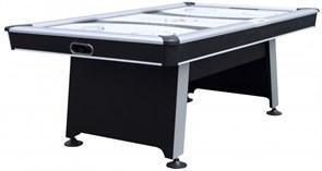 Игровой стол - аэрохоккей «ATOM» 7 ф Wk (213,4 х 122 х 81,3 см, черный)