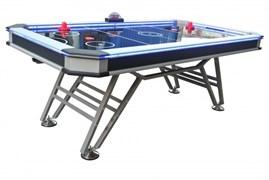 Игровой стол - аэрохоккей «Black Ice» 7 ф Wk (213 х 111 х 80 см, черный)