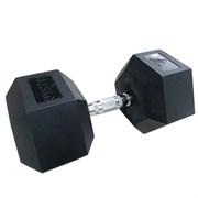 Гантели DFC гексаг. обрезиненная пара 37.5кг DB001-37.5