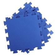 Покрытие для тренажерного зала 70ШОР, 75х75х1 см, синий