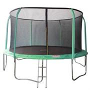 Батут 16FT 4,88м SportElite 4,88м фиберглас с защитной сеткой внутрь и лестницей
