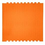 "Коврик-пазл EcoCover (1 плита 100х100х1,4см, 1кв.м./уп) ""Оранжевый"""