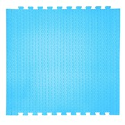 "Коврик-пазл EcoCover (1 плита 100х100х1,4см, 1кв.м./уп) ""Голубой"""