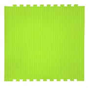 "Коврик-пазл EcoCover (1 плита 100х100х1,4см, 1кв.м./уп) ""Салатовый"""