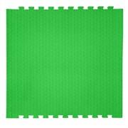"Коврик-пазл EcoCover (1 плита 100х100х1,4см, 1кв.м./уп) ""Зеленый"""