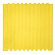 "Коврик-пазл EcoCover (1 плита 100х100х1,4см, 1кв.м./уп) ""Желтый"""